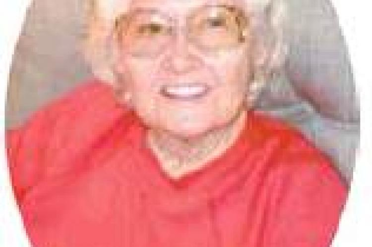 Service held for Elvira Marie Riley