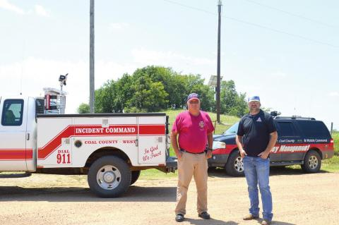 Two new early warning storm sirens installed in Clarita-Olney area