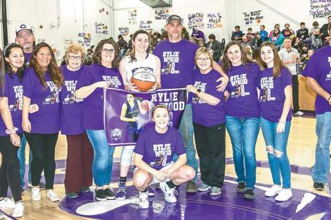 Coalgate basketball star Rylie Wood makes school history