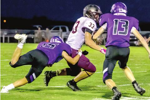 Wildcats roughed up in Boggy Bottom Bowl