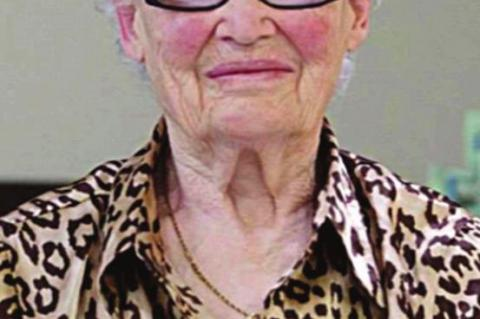 Service today for Betty Jo Young