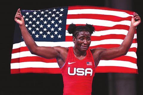 Patriotic Olympians the Liberal Woke Media