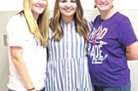 New teachers at Coalgate schools
