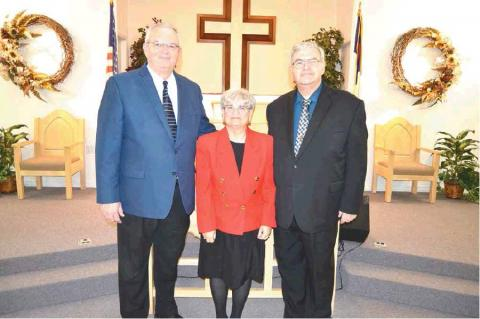 Pastors Ken and Jean Brown installed at Nazarene Church