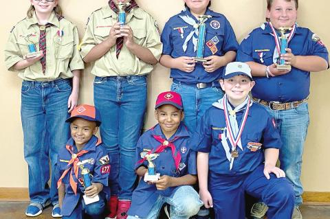 Coalgate Scouts do great at district derby
