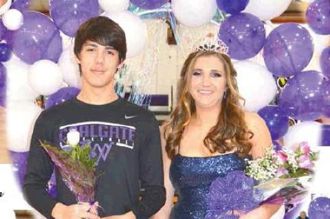 Rylie Wood and Cordell Brown named