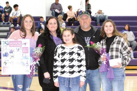 Coalgate HS golf and softball seniors recognized