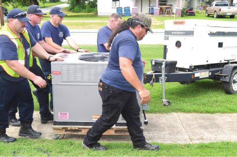 Coalgate firefighters save the day when nursing home loses power