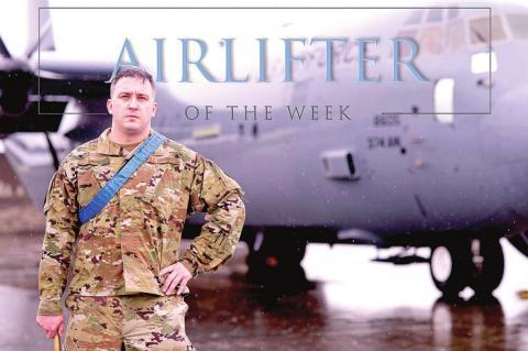 Coalgate Airman Ty Ward named Airlifter of the Week at Yokota Air Base Japan