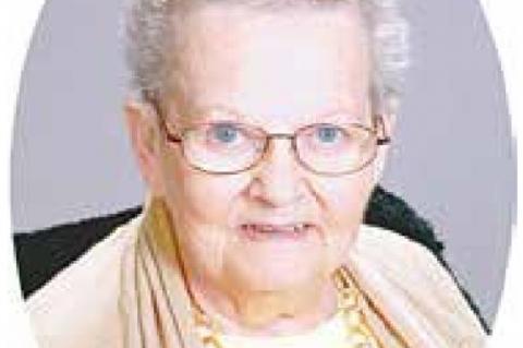 Service held for Mary Katherine Hooe