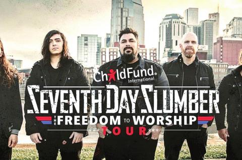 Seventh Day Slumber to headline FreedomFest 2020 at Coalgate First Baptist Church