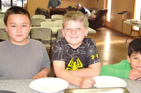 FAMILY NIGHT AT FIRST BAPTIST CHURCH
