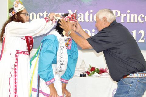 Candis Battice Louis crowned Choctaw Nation District 12 Princess