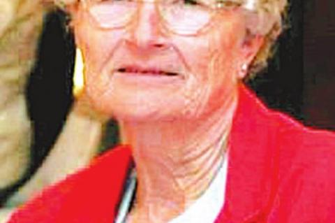 Service today for Bessie Sue Ray