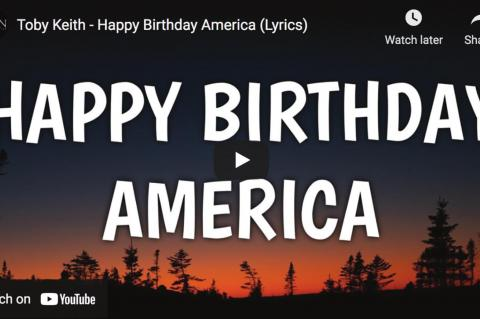 You Need To Hear Toby Keith's New Song 'Happy Birthday America (Whatever's Left Of You)'
