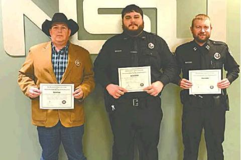 Sheriff and deputies complete CSI training