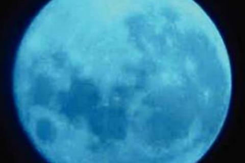 Halloween Blue Moon Oct. 31
