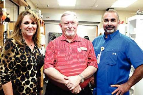 Family Health Center honors Phil Biddy for for 50 years of Pharmacy Service