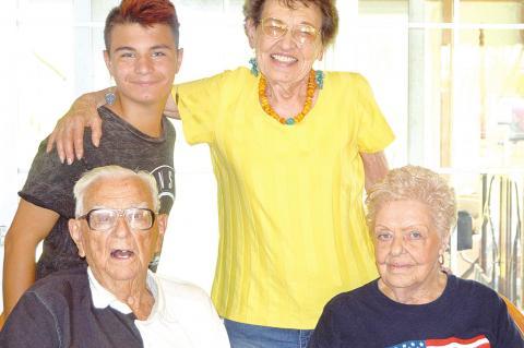 Riley Townsend Celebrates 95th Birthday