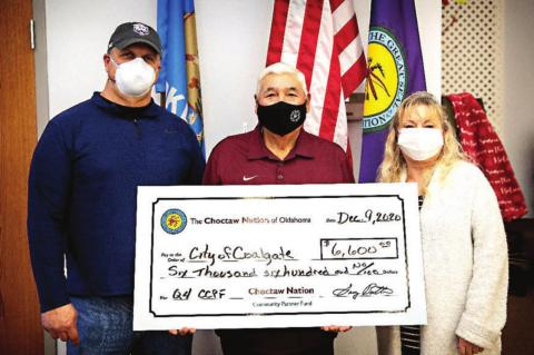 Choctaw Nation Community Partner Fund Awards $11,000 to City of Coalgate and Coal County