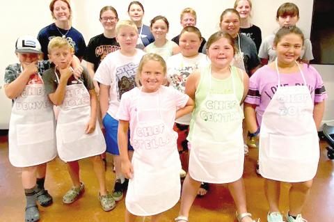 Coal County 4-Hers learn to cook