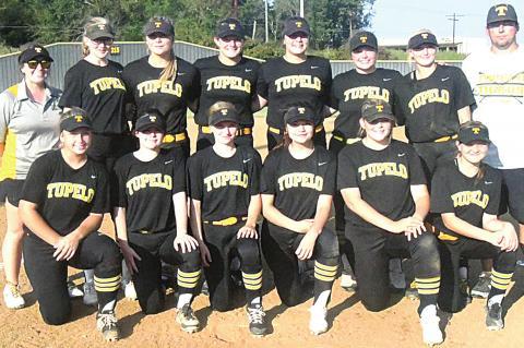 Tupelo Lady Tigers District Champions