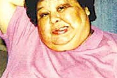 """Service held for Mary """"Luksi"""" Roberts"""