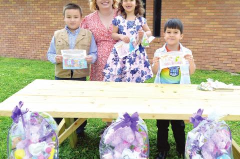 FIRST BAPTIST COLORING CONTEST WINNERS ANNOUNCED