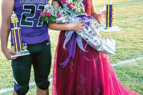 Breanna Hale crowned CHS Football Homecoming Queen