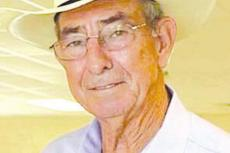 Service held for Charles H. Hall