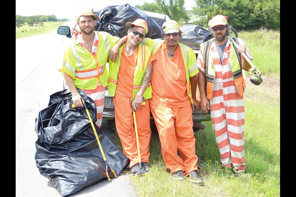 KEEPING OUR ROADWAYS CLEAN