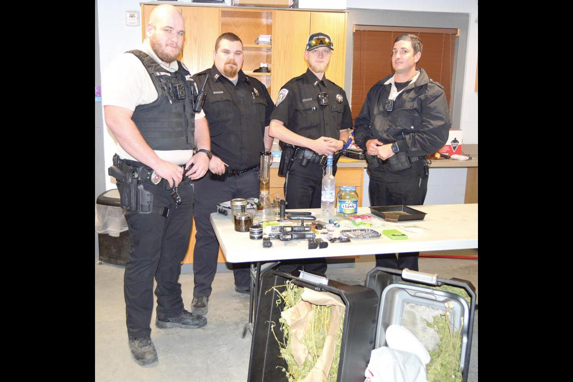 Traffic stop leads to sizeable drug bust