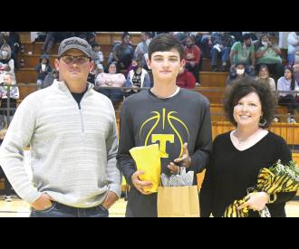 Seven Tupelo athletes honored at Senior Night